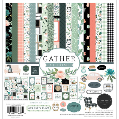 12X12 Collection Kit, Gather at Home