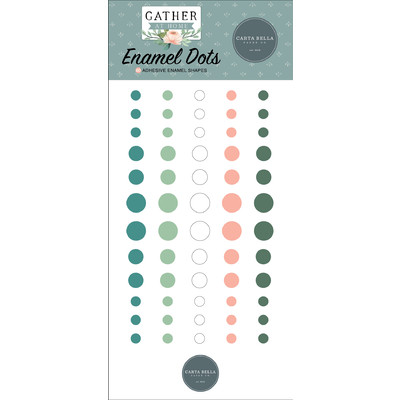 Enamel Dots, Gather at Home