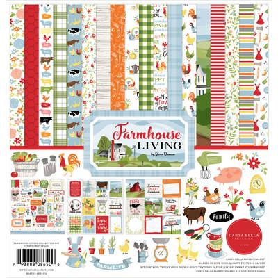 12X12 Collection Kit, Farmhouse Living
