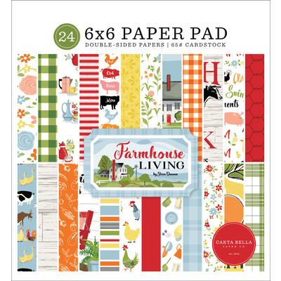 6X6 Paper Pad, Farmhouse Living