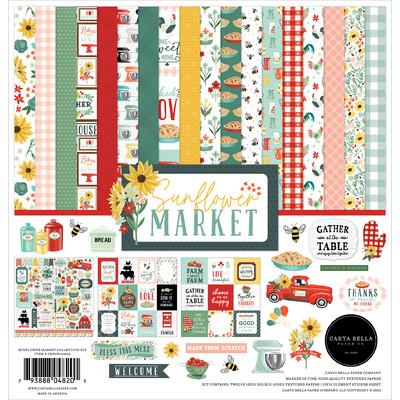 12X12 Collection Kit, Sunflower Market