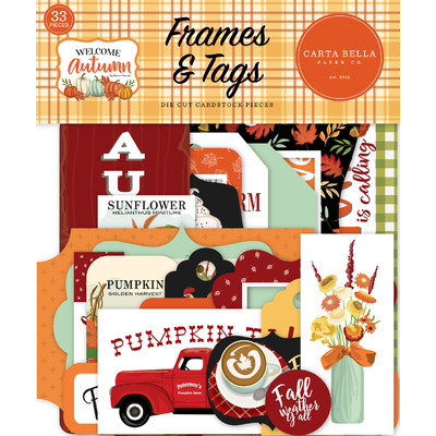 Frames & Tags, Welcome Autumn