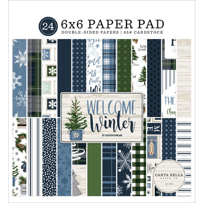 6X6 Paper Pad, Welcome Winter