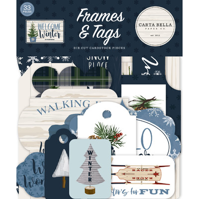 Frames & Tags, Welcome Winter