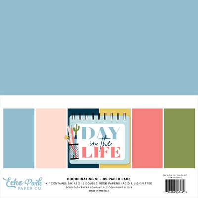 12X12 Solids Kit, Day in the Life