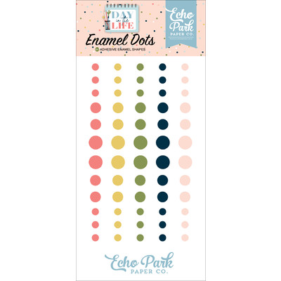 Enamel Dots, Day in the Life