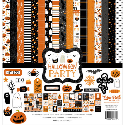 12X12 Collection Kit, Halloween Party