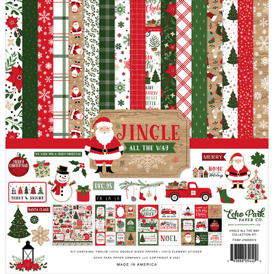 12X12 Collection Kit, Jingle All The Way