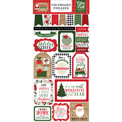 Chipboard Phrases, Jingle All The Way