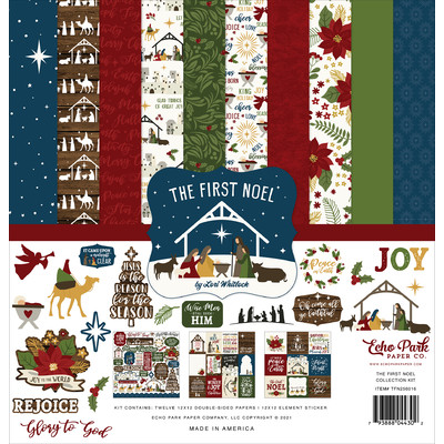 12X12 Collection Kit, The First Noel