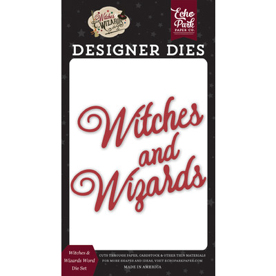 Die, Witches & Wizards No.2 - Witches & Wizards Word