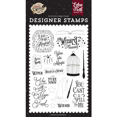 Clear Stamp, Witches & Wizards No.2 - You Are Magic