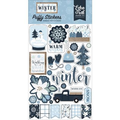 Puffy Stickers, Winter