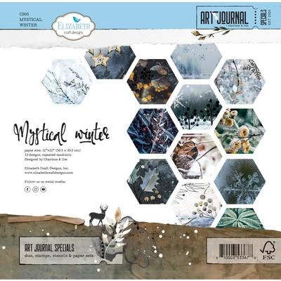 12X12 Paper Pack, Mystical Winter