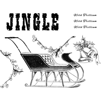 Cling Stamp, Sleigh Bells