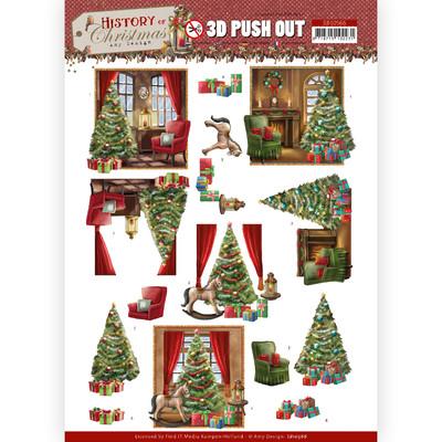 Amy Design 3D Push Out, HOC - Christmas Home
