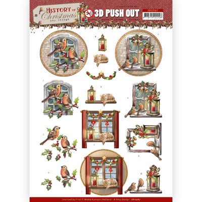 Amy Design 3D Push Out, HOC - Christmas Window