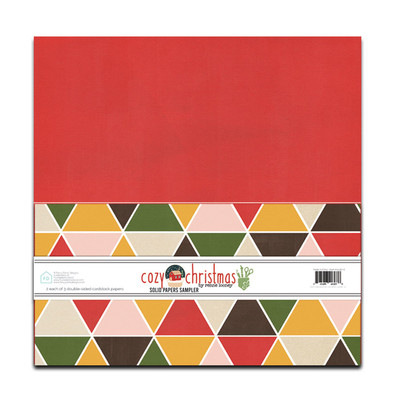 12X12 Cardstock Pack, Cozy Christmas
