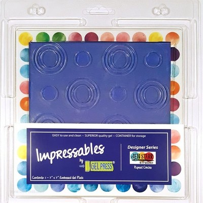 Gel Press, Impressables Repeat Circles