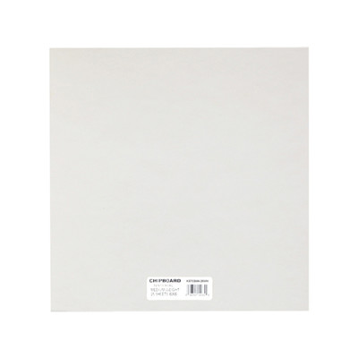 """Chipboard, .057 White - 6"""" x 6"""" (25 Pack)"""