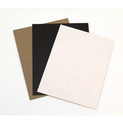 """Chipboard, Assorted - 8.5"""" x 11"""" (15 Pack)"""