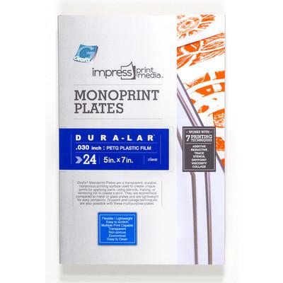 "Impress Print Media Monoprint Plate, .030"" - 5"" x 7"" (24 Pack)"