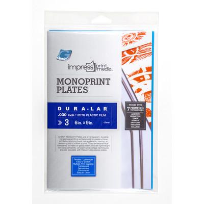 "Impress Print Media Monoprint Plate, .030"" - 6"" x 9"" (3 Pack)"