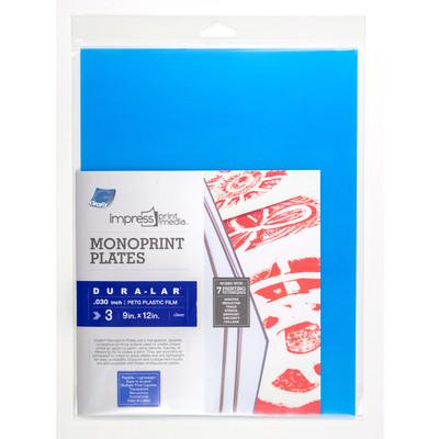 "Impress Print Media Monoprint Plate, .030"" - 9"" x 12"" (3 Pack)"