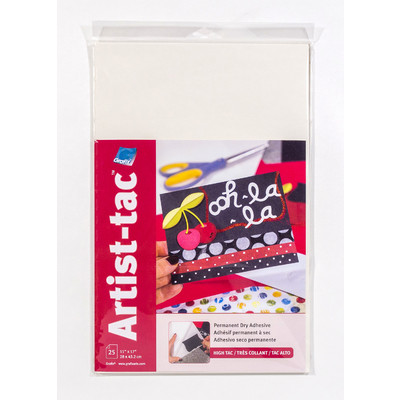 "Artist-tac Adhesive Dots, 11"" x 17"" (25 Pack)"
