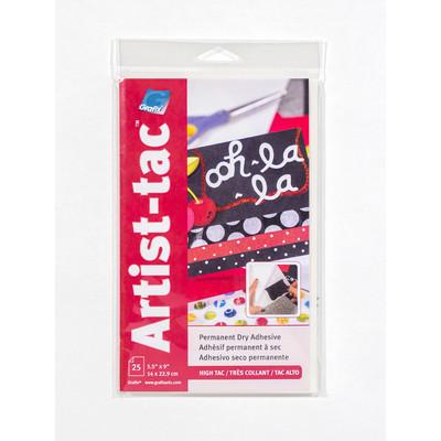 "Artist-tac Adhesive Dots, 5.5"" x 9"" (25 Pack)"