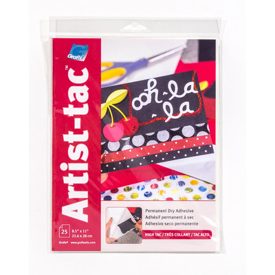 "Artist-tac Adhesive Dots, 8.5"" x 11"" (25 Pack)"