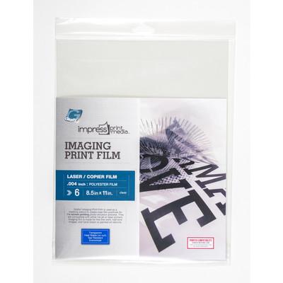 "Impress Print Media Imaging Print Film, Laser - 8.5"" x 11"""