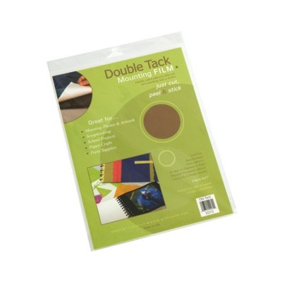 """Double Tack Mounting Film Pack, 24"""" x 36"""" (10 Pack)"""