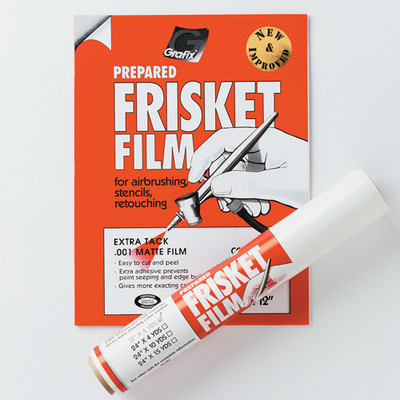 "Extra Tack Frisket Film Pack, 9"" x 12"" (6pc)"