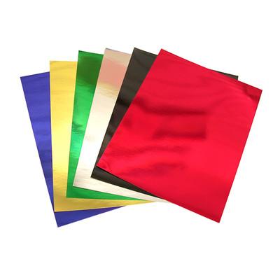 "Metallic Foil Board, Red - 10"" x 13"" (10 Pack)"