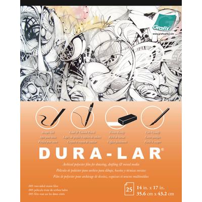 "Matte Dura-Lar Film Pad, .005 - 14"" x 17"" (25 Sheets)"