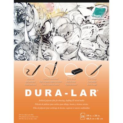 "Matte Dura-Lar Film Pad, .005 - 19"" x 24"" (25 Sheets)"