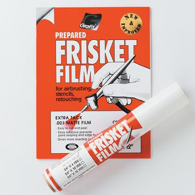 "Extra Tack Frisket Film Roll, 12"" x 4yd"