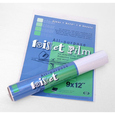 """All-Purpose Low Tack Clear Frisket Film Roll, 24"""" x 15yd"""