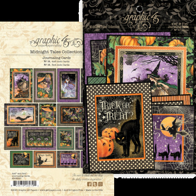 Journaling Cards, Midnight Tales
