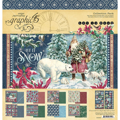 12X12 Collection Pack, Let it Snow