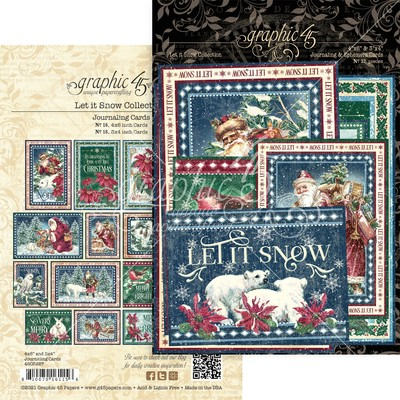 Journaling Cards, Let it Snow