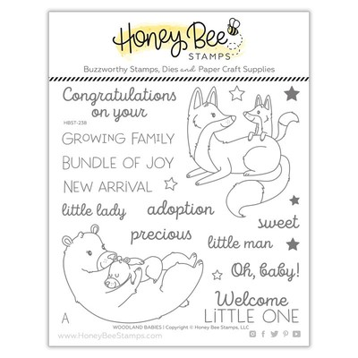Clear Stamp, Woodland Babies
