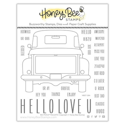 Clear Stamp, Big Pickup Tailgate