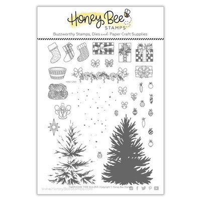 Clear Stamp, Farmhouse Tree Builder