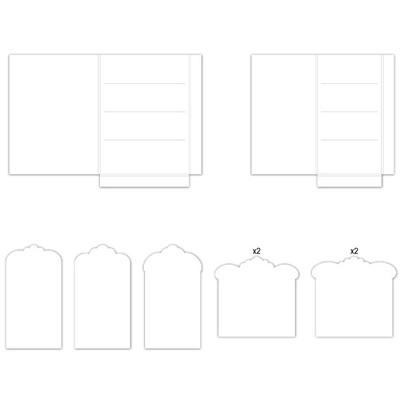 Pocket and Flipfold Inserts F - White