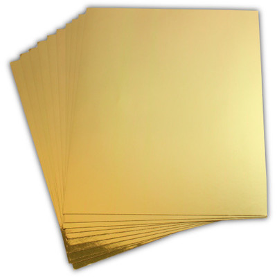 8.5X11 Cardstock, Luxe Gold