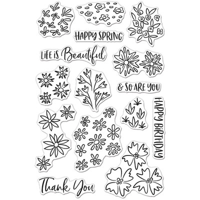 Clear Stamp, Life is Beautiful