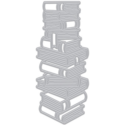 Die, Fancy - Stacked Books (C)
