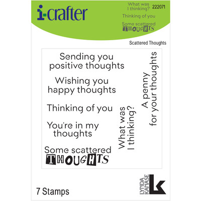 Clear Stamp, Scattered Thoughts